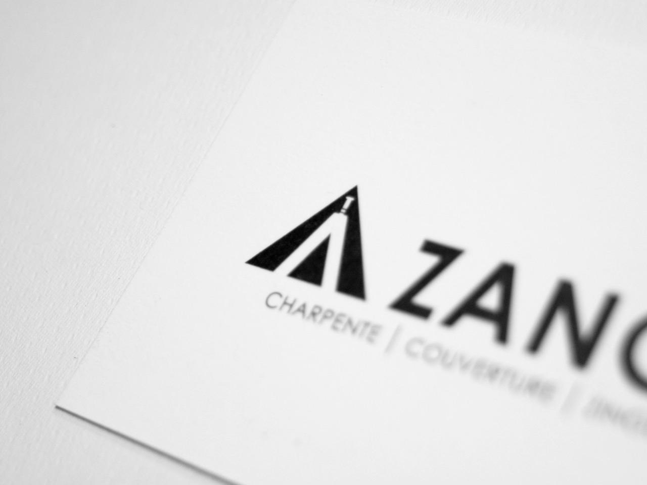 Ekidna a créé un nouveau logo pour l'entreprise de charpente Zanon