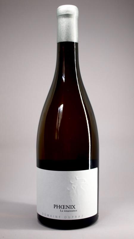 En Savoie, Ekidna a réalisé une étiquette premium sur une bouteille de vin haut de gamme